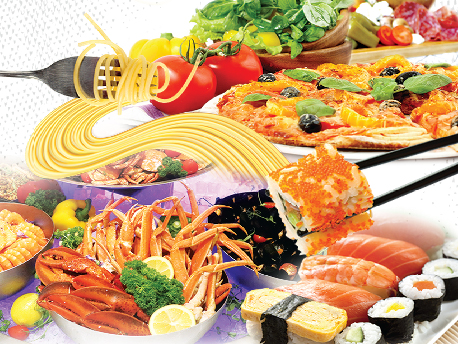 Sonata | Touch of Italian and Japanese Seafood Dinner Buffet